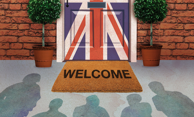 A good question: Who should be welcome to Britain?