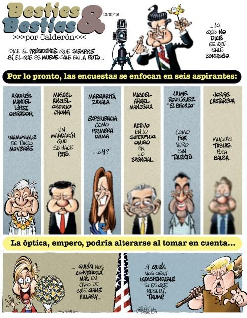 Besties & Bestias - Calderón