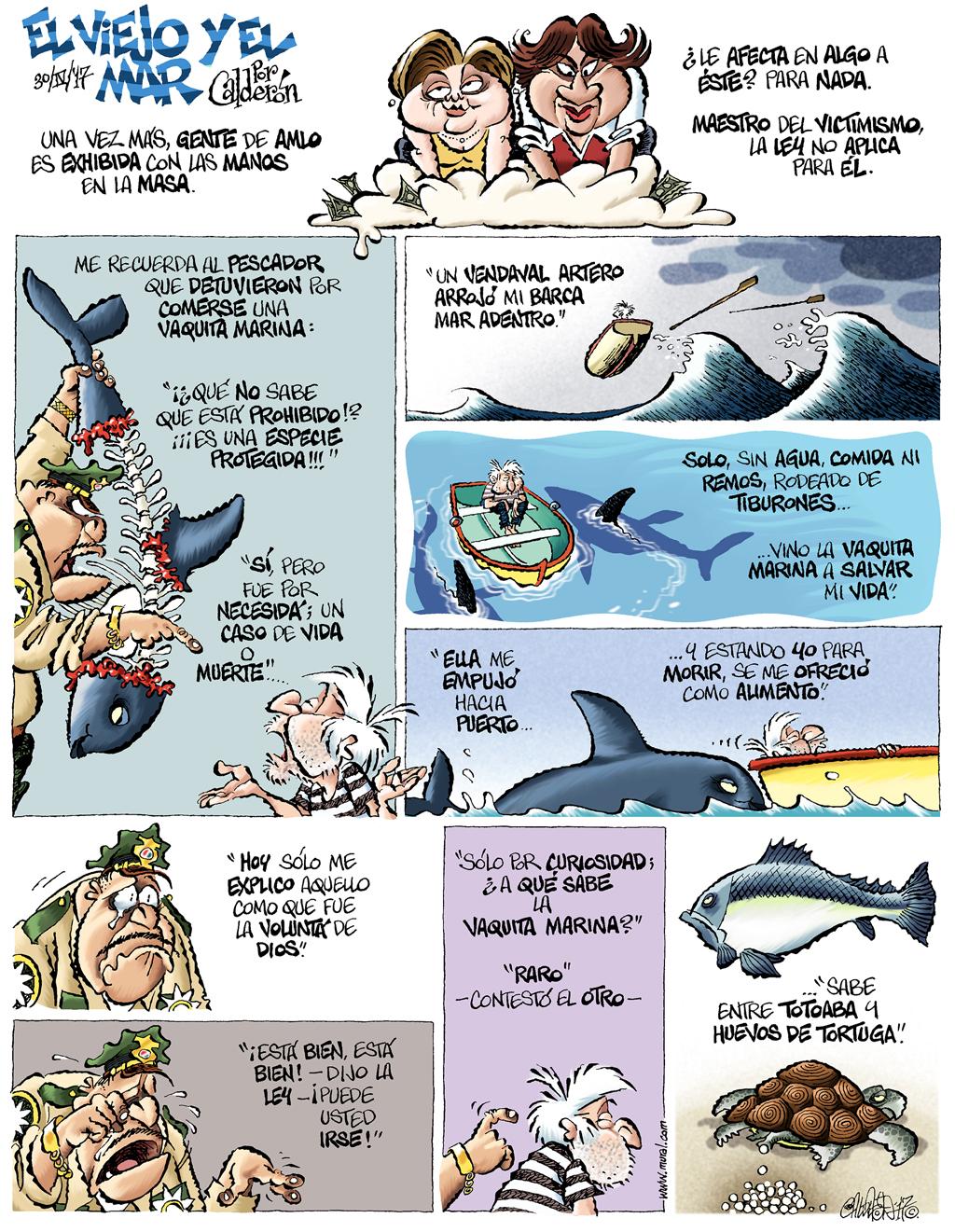 El viejo y el mar - Calderón