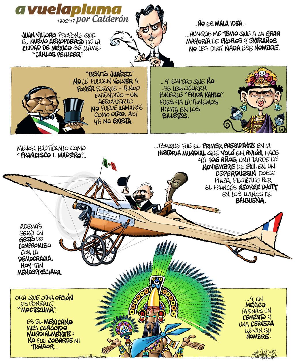 A vuela pluma - Calderón