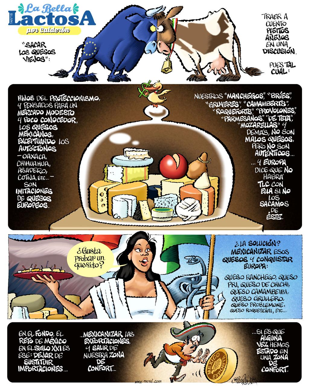 La bella lactosa - Calderón
