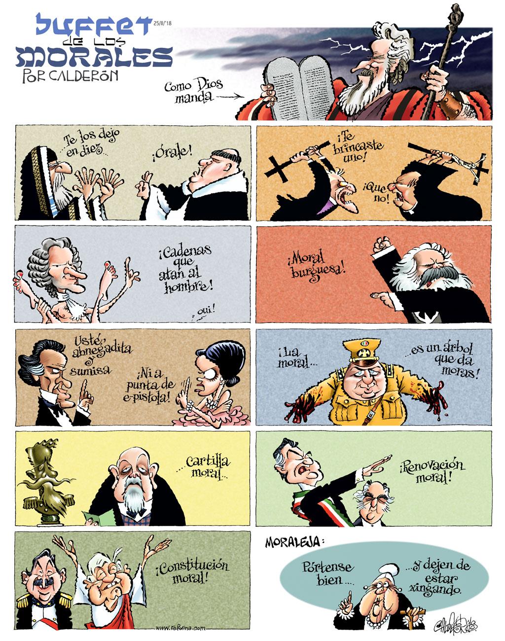 Buffet de los morales - Calderón