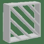 Elemento Vazado em Concreto modelo Diagonal
