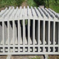 Grade de Concreto Direto da Fábrica Roma Inclinada