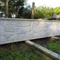 Mureta texturizada direto da fábrica Pedras