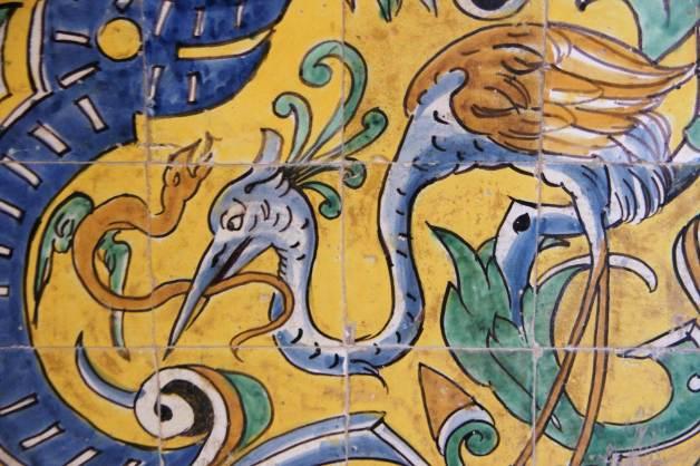 Azulejo Artístico del Alcazar Sevilla