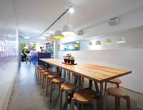 Cherter Street Bakery Bar, uno de los espacios locales nominados por su decoración.