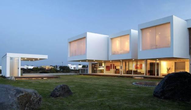 estilo contemporáneo en fachadas