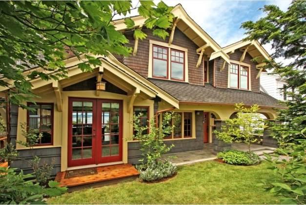 Fachadas de casas, 10 dibujos y asesoramiento externo para el hogar