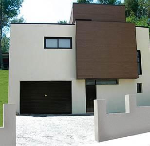 Fachadas estilo contemporaneo materiales y colores
