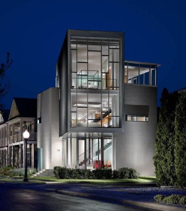 fachadas diseño contemporaneo