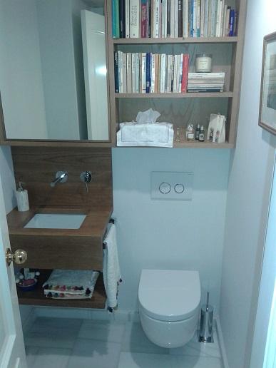 trucos para cuarto de baño pequeño