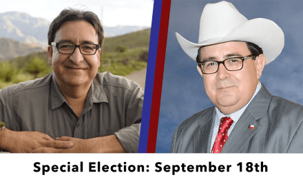 The Senate District 19 election set for Sept. 18