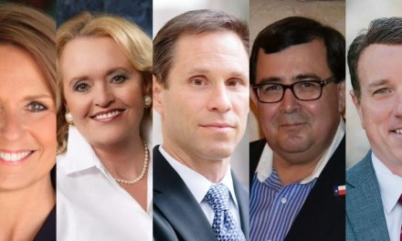 Five new members joining the Texas State Senate