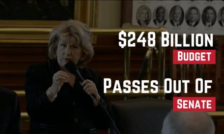 $248 Billion Budget Passes Out of Senate