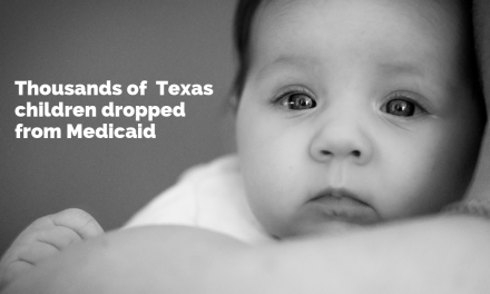 Thousands of disadvantaged Texas children dropped from Medicaid