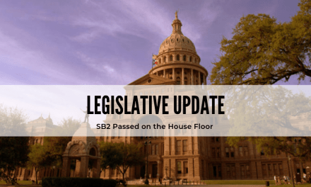 SB2 Passes the Texas House