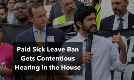 Paid Sick Leave Ban Gets Contentious Hearing in the House