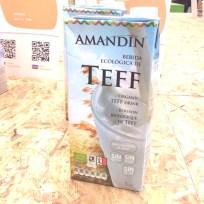 Teff ist das kleinste Getreide der Welt - steckt aber voller Power. Wie die glutenfreie Teff-Milch von Amandin schmeckt, konnte ich noch nicht testen.