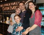 Robin, Justus, Wolfgang (Mit-Initiator) und Tanja