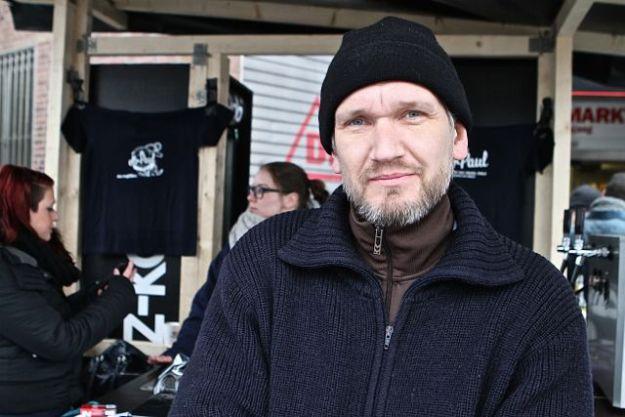 Dirk Paul ist ein Freibeuter seit 1974 und braut ein ziemlich leckeres Bier - gelernt hat er bei Lammsbräu