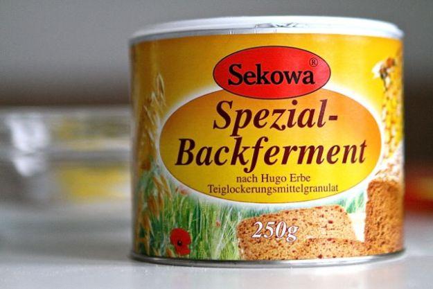 Backferment gibt es von Sekowa, aber auch BackNatur aus Oberursel