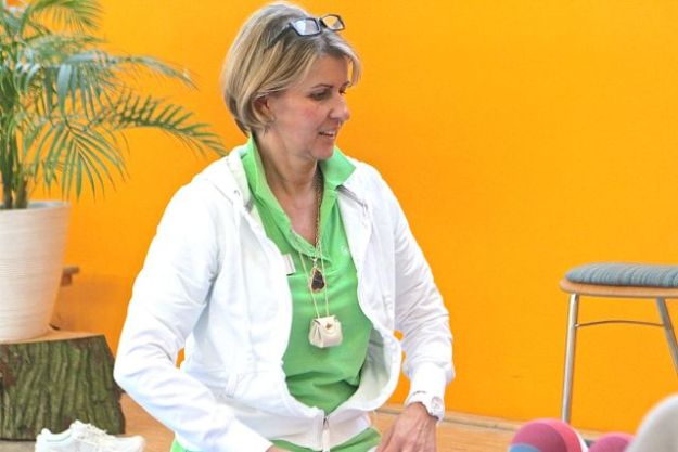 Brigitta Jellenko, Psychotherapeutin, an der Feldenkrais Station