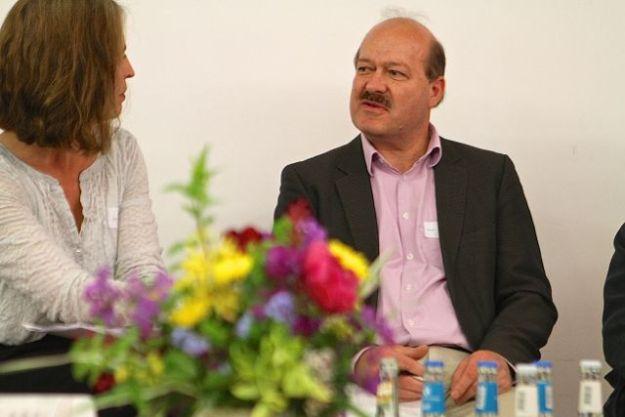 Dr. Anke Butscher, Moderatorin, Prof. Dr. Hartmut Rein, BTE