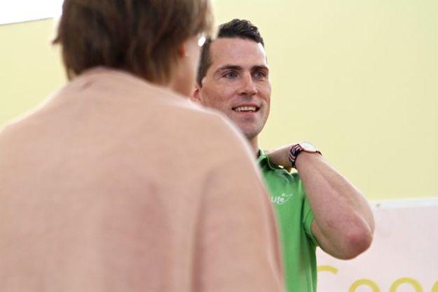 Marco Hauschild, Vorstand der GoodLife eG, macht gerade den Heilpraktikerschein