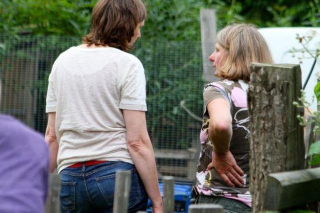 Farmpädagoginnen können auch herrliche  Sommerfeste organisieren