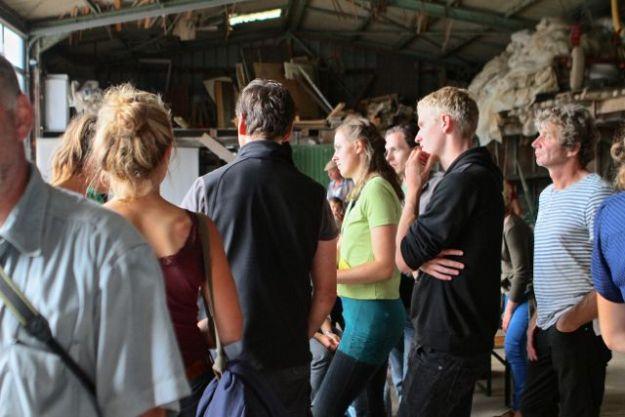 Rund 120 Gäste - in der Mehrheit Gärtner - waren der Einladung der Bingenheimer Saatgut AG gefolgt