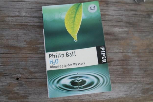 Lesenswert: Philip Balls Biographie des Wassers - weiterführende Links unten