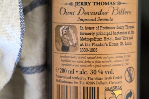 Geschmacklich mein Lieblinsbitter - allerdings nicht alkoholfrei: Jerry Thomas Bitter von The Bitter Truth