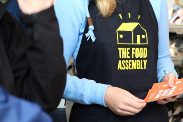 Die erste Food Assembly in Hamburg ist eröffnet, 01. Oktober 2016, Marktzeit, Fabrik