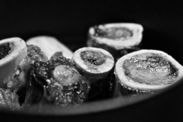 Maillard-Reaktion nach dem 45 minütigem Rösten im Ofen bei 200 ° - verleiht guten Geschmack