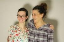 Katrin Schäfer (li) und Stefanie Engelbrecht (re) - Initiatorinnen Minitopia Hamburg