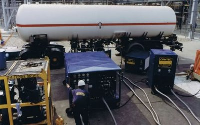 Industrial refrigerant recovery