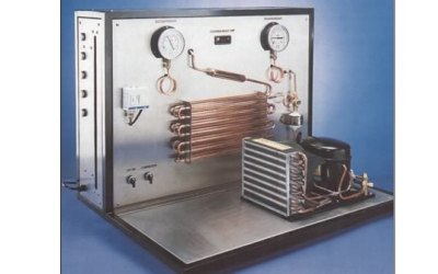 Refrigeration vocational training equipment for fault simulation