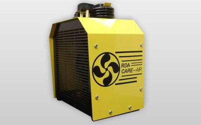 The RDA Care - Air fan ventilation module for use when transferring hydrocarbon refrigerants