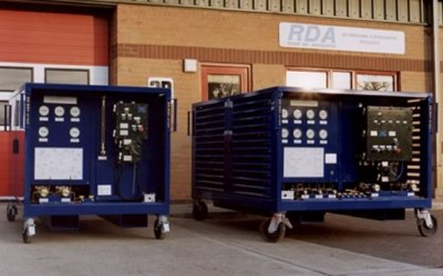 Industrial refrigerant recovery units for Zone 1 hazardous areas