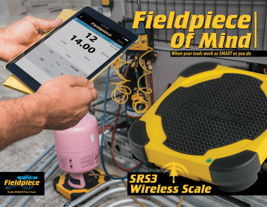 Refrigerant Weigh Scale with Wireless Operation