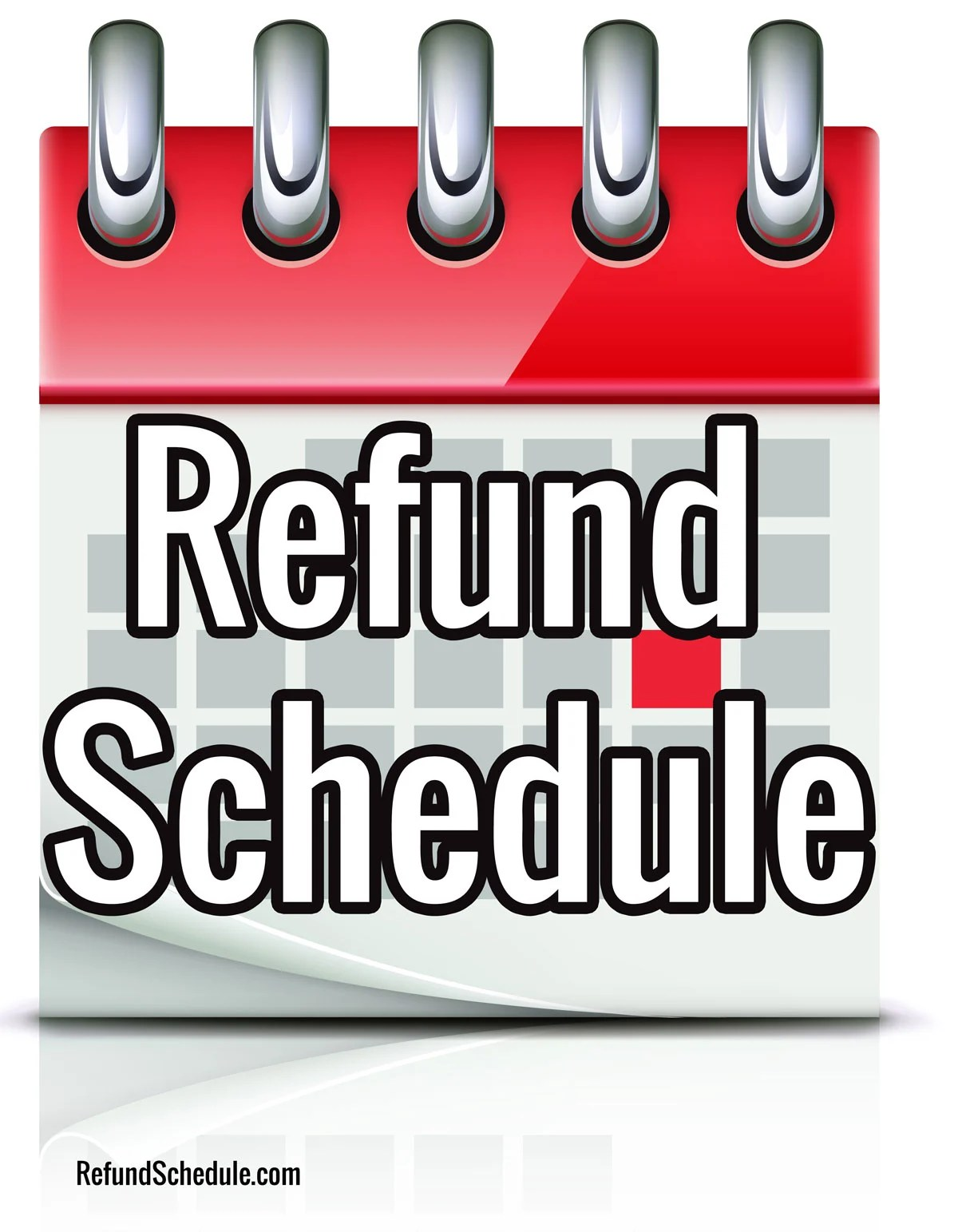 Irs Refund Schedule Refund Cycle Chart For E File Tax Return