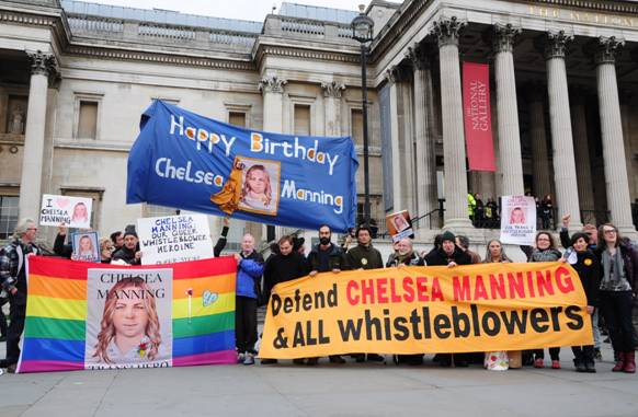 Image result for defend chelsea manning and all whistleblowers
