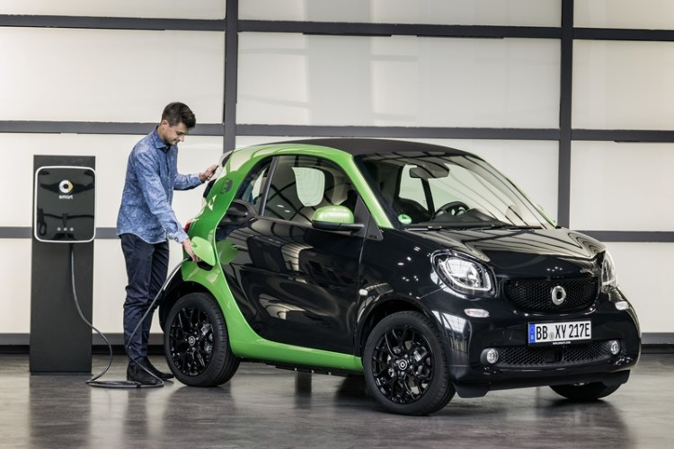 Smart Fortwo electrico 2017