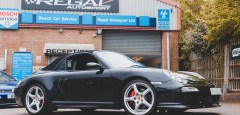 Porsche 997 C4S Supercharger Upgrade
