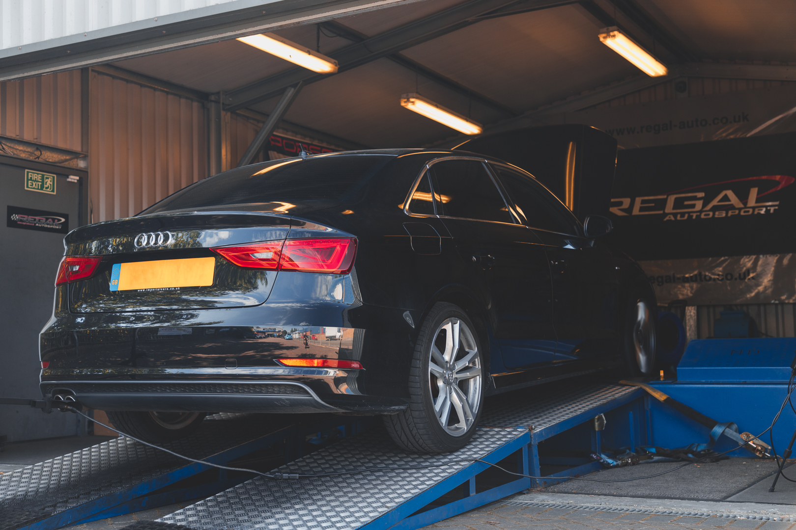 A3 1 8TFSi Packs a Punch with APR Stage 1 ECU Remap