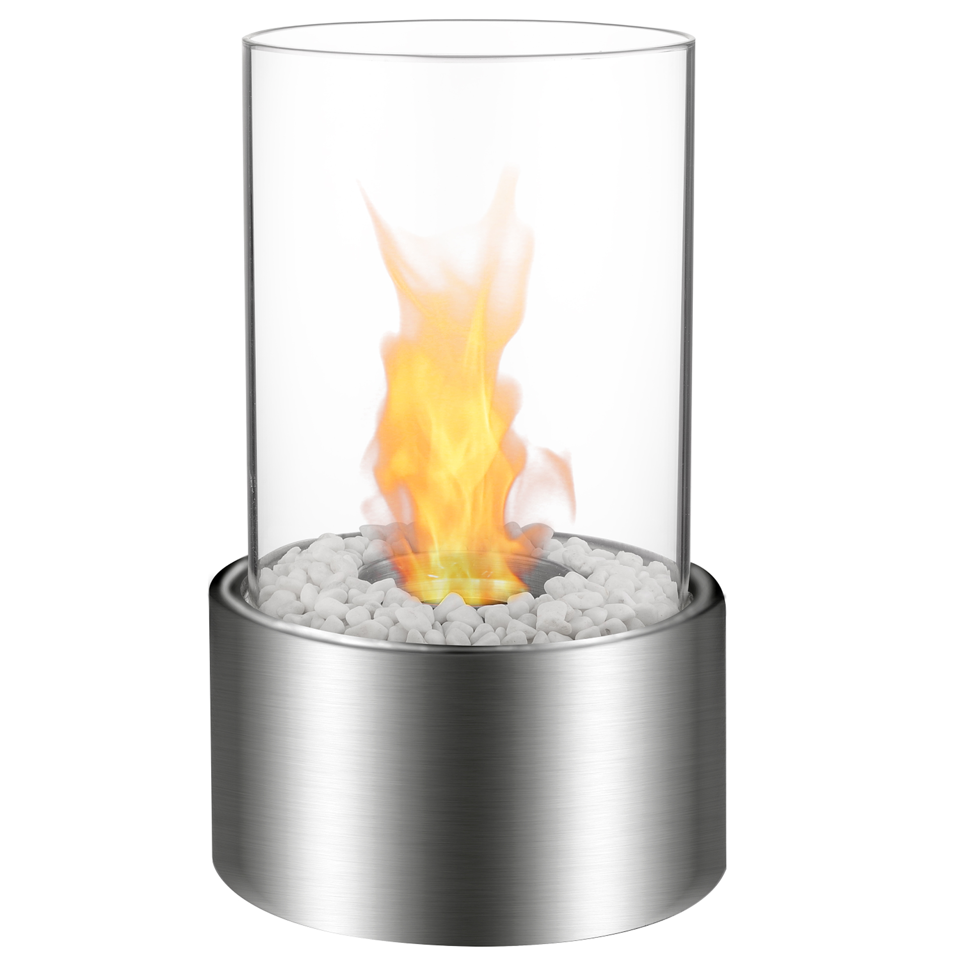 Eden Ventless Tabletop Portable Bio Ethanol Fireplace In