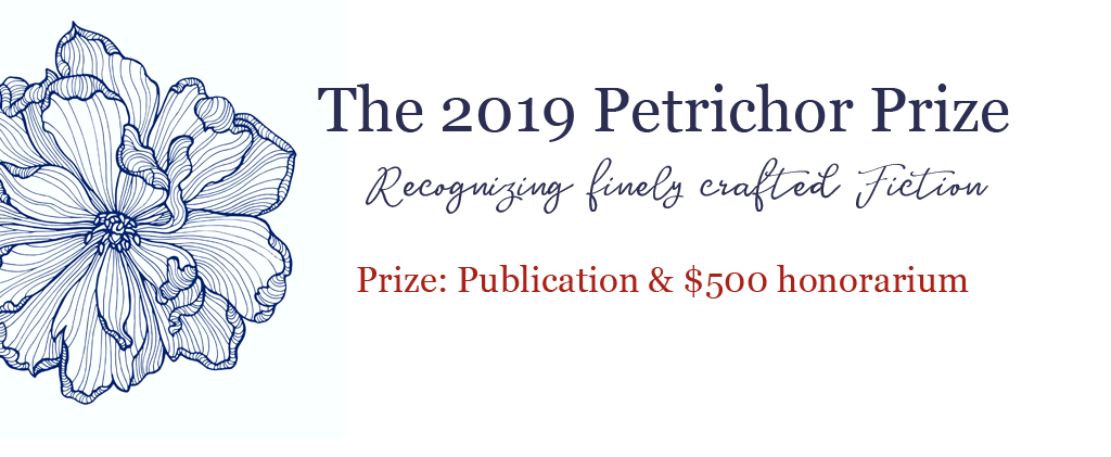 The Petrichor Prize for Finely Crafted Fiction, a book award by Regal House Publishing
