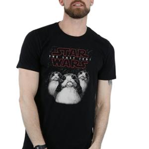 gadget porg t-shirt porg maglietta