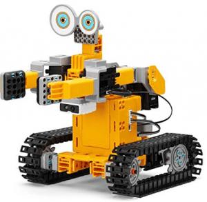 robot giocattolo da costruire cingolato jimu